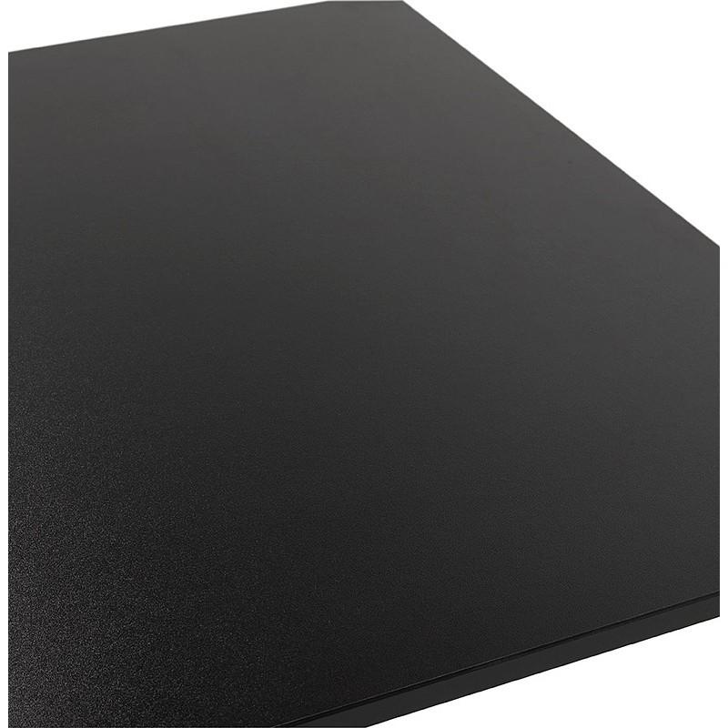 Table à manger design ou table de réunion LUCILE (160x80x75 cm) (noir) - image 39800