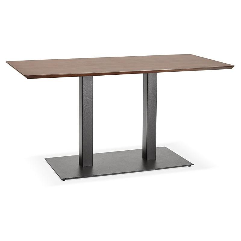 Table à manger design ou table de réunion KENZA (150x70x75 cm) (finition noyer) - image 39805