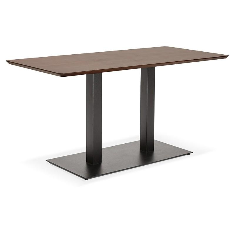 Table à manger design ou table de réunion KENZA (150x70x75 cm) (finition noyer) - image 39808