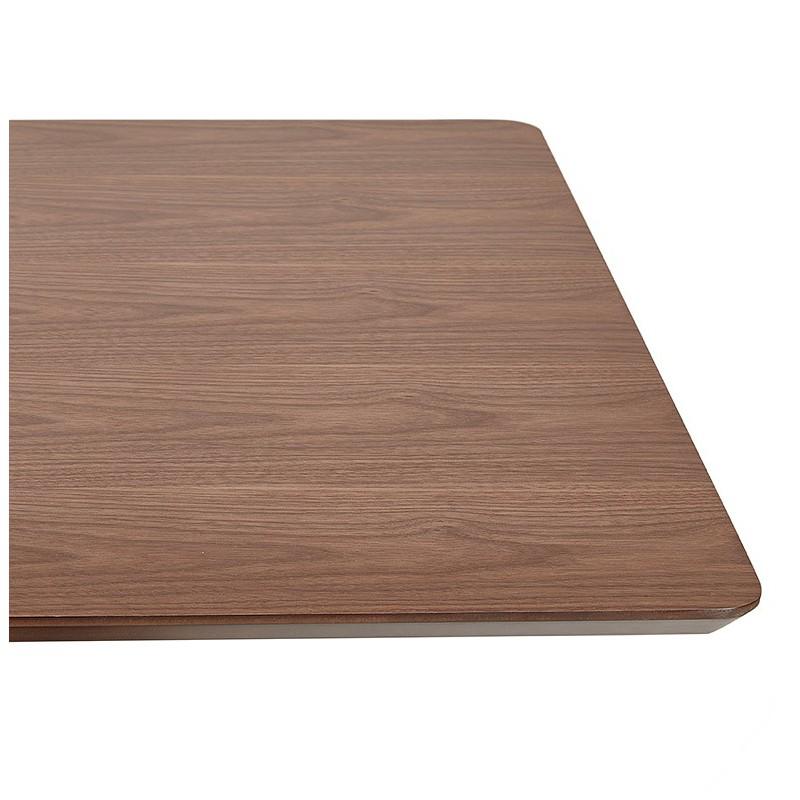 Table à manger design ou table de réunion KENZA (150x70x75 cm) (finition noyer) - image 39809