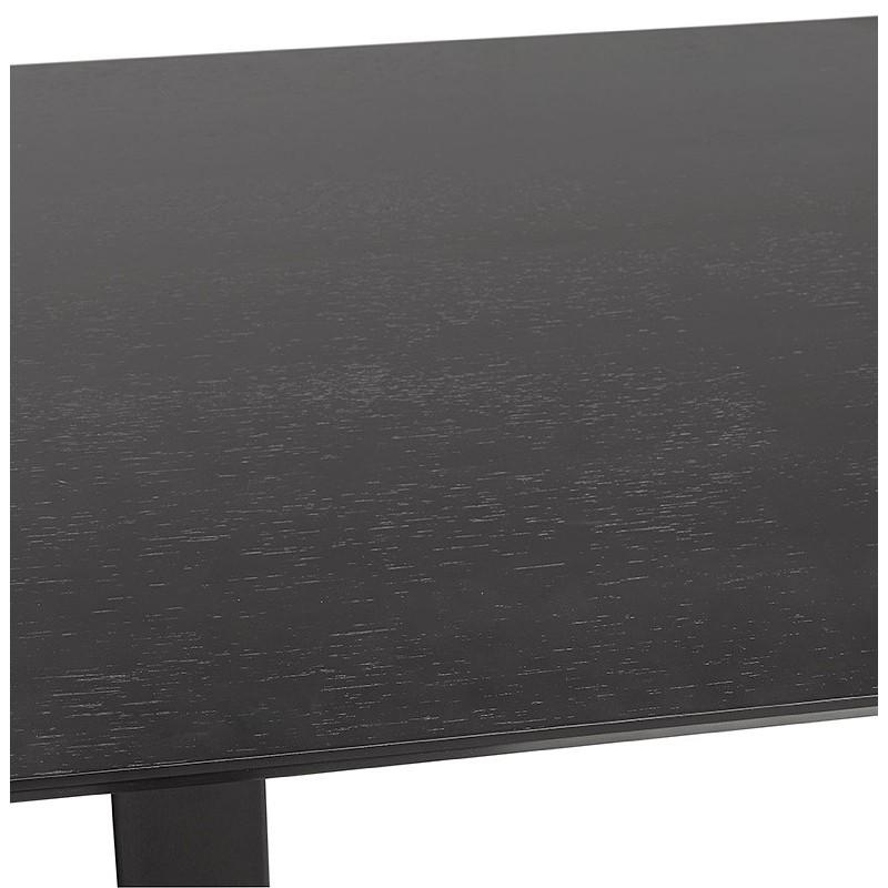 Table à manger design ou table de réunion KENZA (150x70x75 cm) (noir) - image 39822