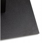 Table à manger design ou table de réunion KENZA (150x70x75 cm) (noir)