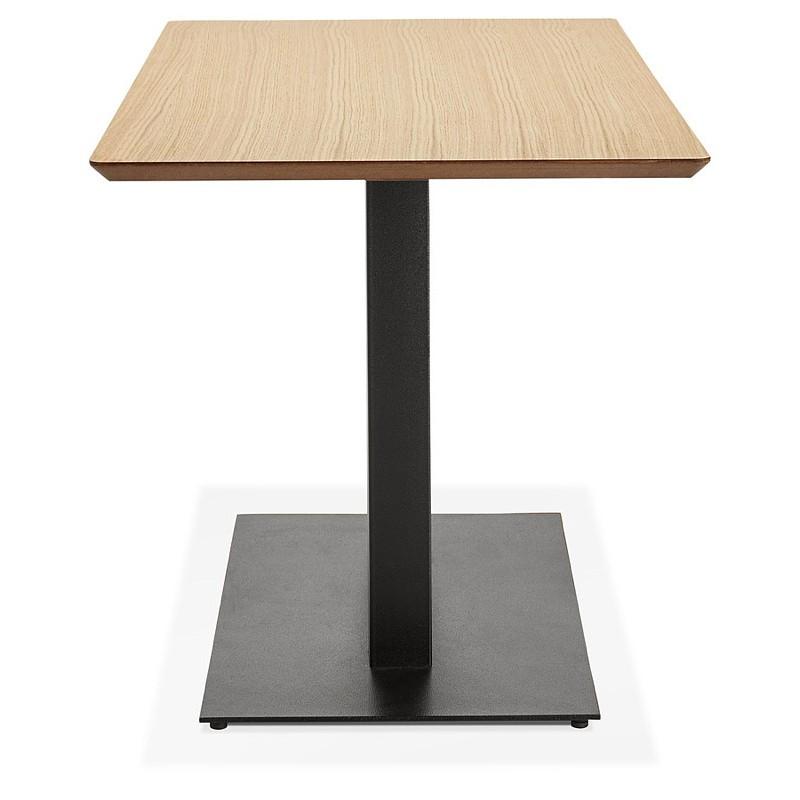 Table à manger design ou table de réunion KENZA (150x70x75 cm) (finition chêne naturel) - image 39829