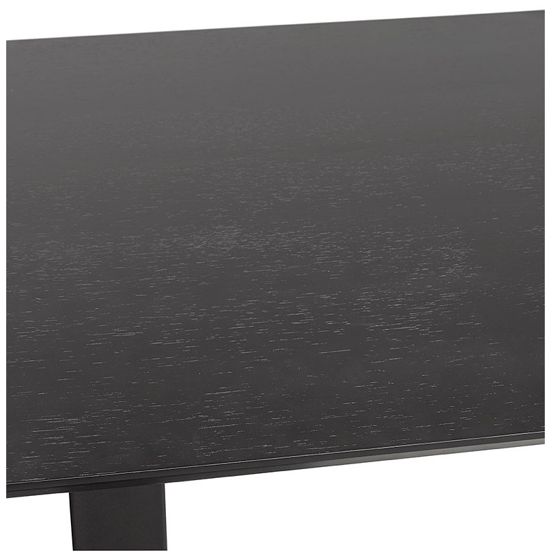 Table à manger design ou table de réunion ANDREA (180x90x75 cm) (noir) - image 39855