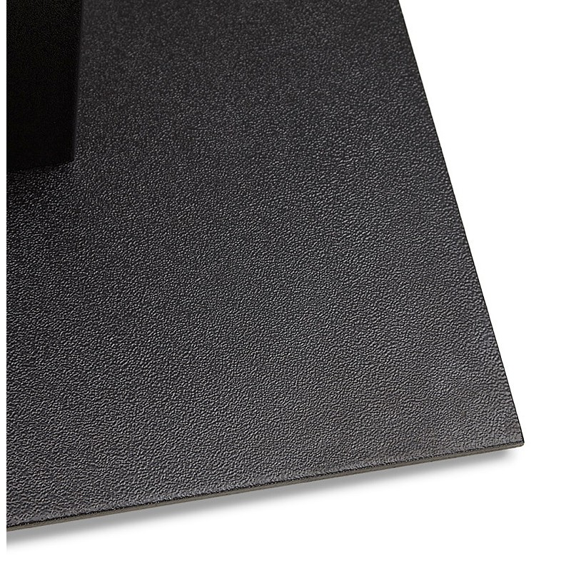Table à manger design ou table de réunion ANDREA (180x90x75 cm) (noir) - image 39857