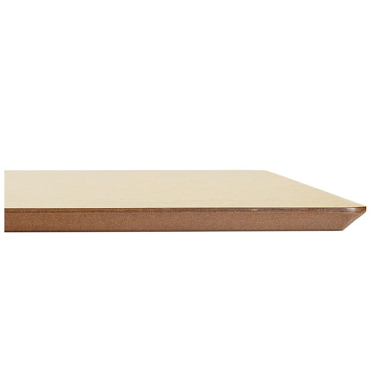 Table à manger design ou table de réunion ANDREA (180x90x75 cm) (finition chêne naturel) - image 39865