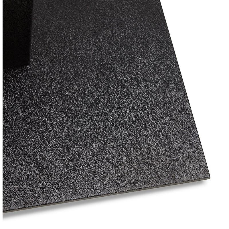 Table à manger design ou table de réunion ANDREA (180x90x75 cm) (finition chêne naturel) - image 39868