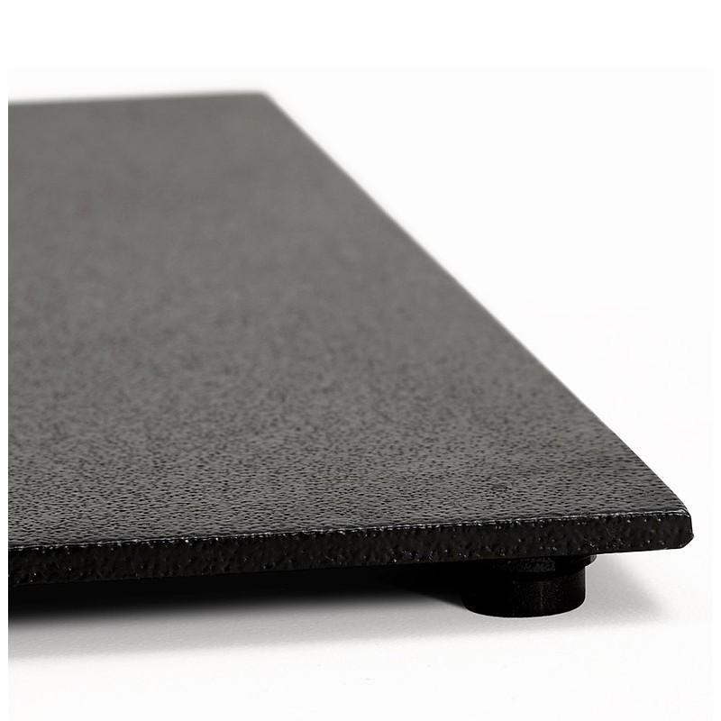 Table à manger design ou table de réunion ANDREA (180x90x75 cm) (finition chêne naturel) - image 39869