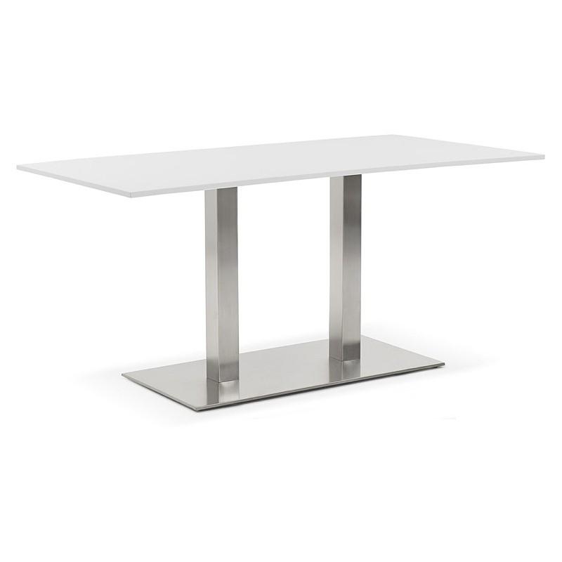 design oder meeting tisch sol ne 160 x 80 x 75 cm wei. Black Bedroom Furniture Sets. Home Design Ideas