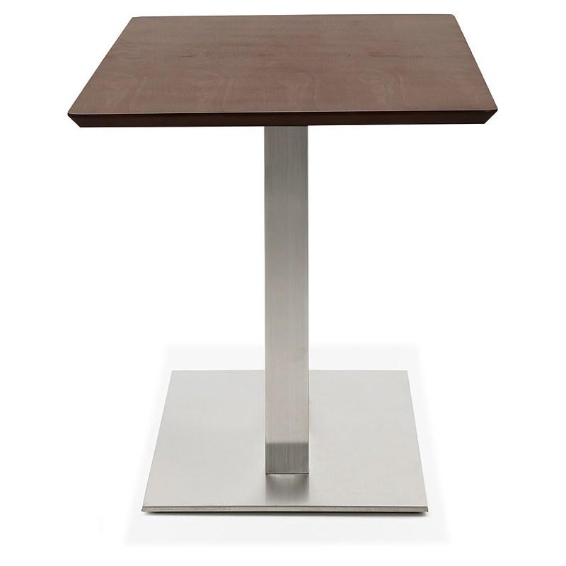 Diseño o reunión mesa de CORALIE (150 x 70 x 75 cm) (acabado en nogal) - image 39893
