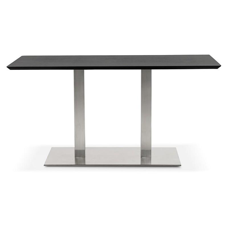 Design oder Meeting Tisch CORALIE (150 x 70 x 75 cm) (Esche schwarz Finish) - image 39902