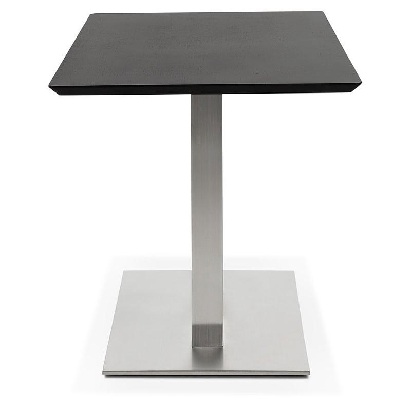 Design oder Meeting Tisch CORALIE (150 x 70 x 75 cm) (Esche schwarz Finish) - image 39903