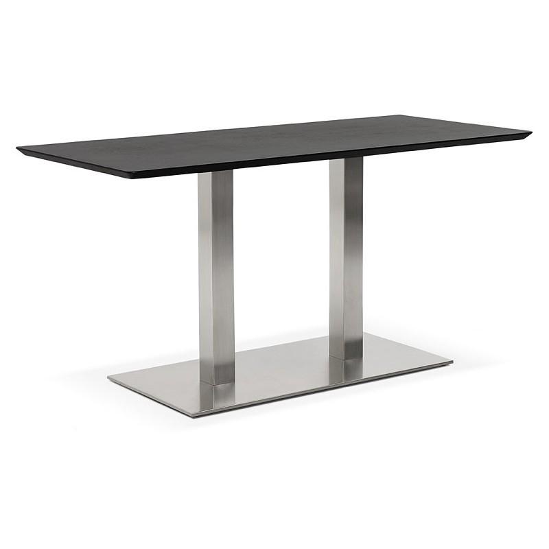 Design oder Meeting Tisch CORALIE (150 x 70 x 75 cm) (Esche schwarz Finish) - image 39904