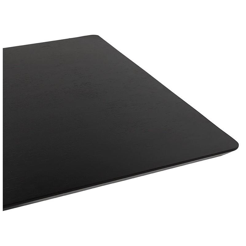 Design oder Meeting Tisch CORALIE (150 x 70 x 75 cm) (Esche schwarz Finish) - image 39905