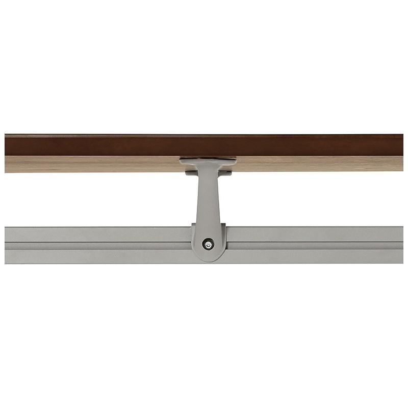 Bureau table de réunion moderne (70x150 cm) NOEMIE en bois plaqué noyer (noyer) - image 40094