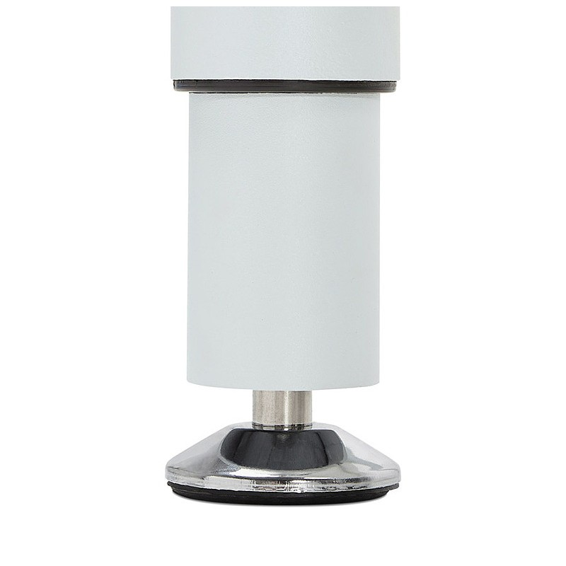 Bureau table de réunion moderne (80x160 cm) LORENZO en bois (blanc) - image 40165