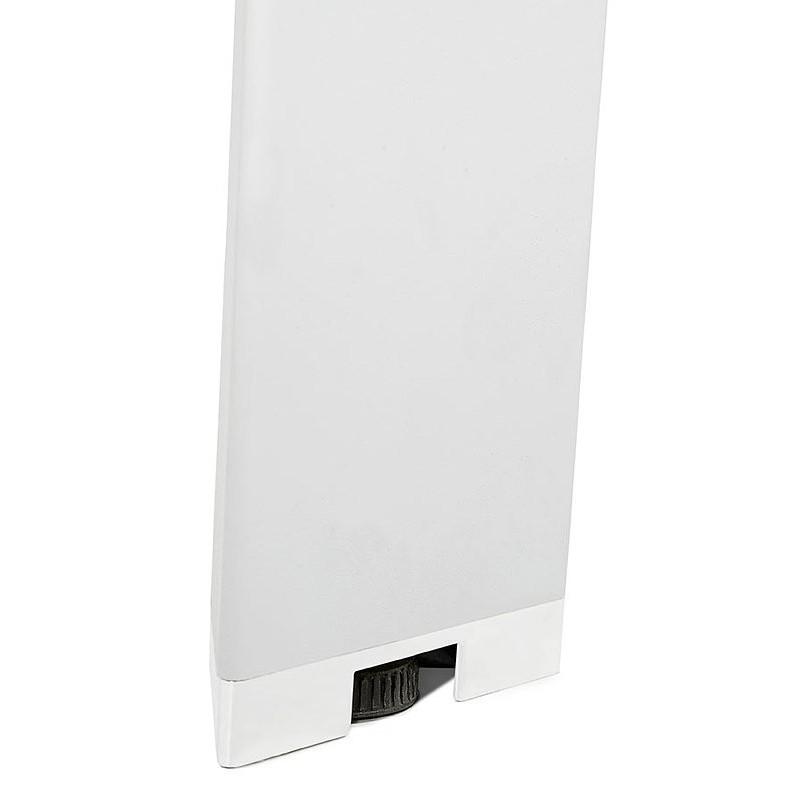 Bureau table de réunion moderne (140x140 cm) RICARDO en bois (blanc) - image 40197