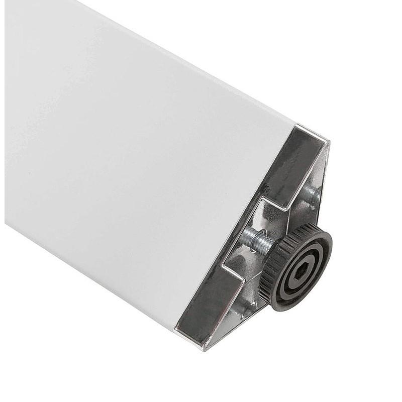 Bureau table de réunion moderne (140x140 cm) RICARDO en bois (blanc) - image 40198