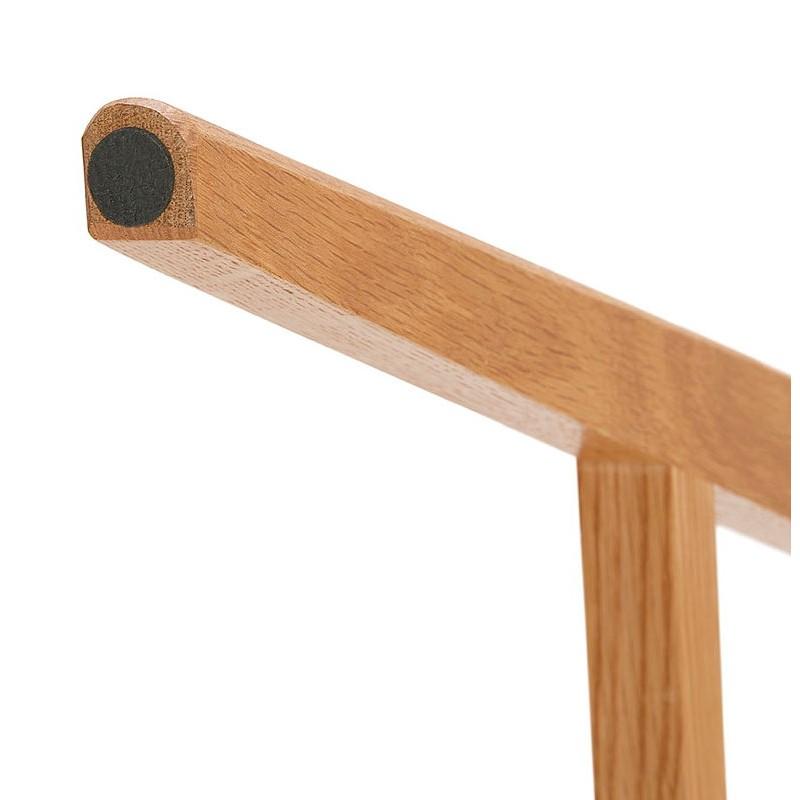 Bureau droit scandinave ELOISE en bois (blanc mat) - image 40228