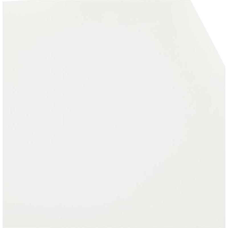 Table à manger design ou bureau (180x90 cm) FOSTINE en bois (blanc mat) - image 40312