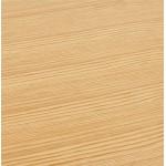 Tisch-Design oder Büro ESTEL (natürlichen) Holz (150 x 70 cm)