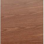 Table à manger design ou bureau (180x90 cm) DRISS en bois (finition noyer)