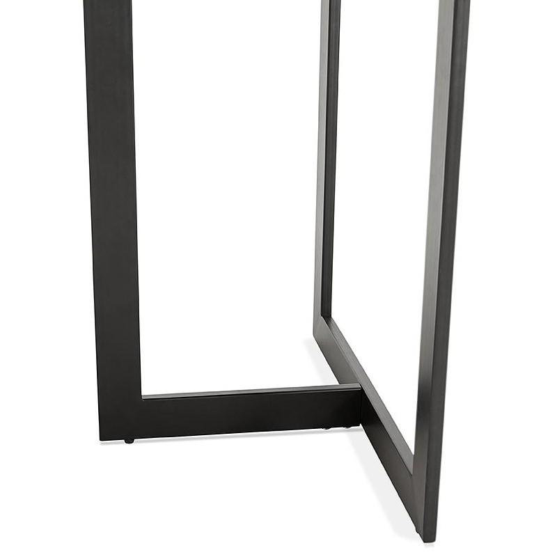 Table à manger design ou bureau (180x90 cm) DRISS en bois (finition noyer) - image 40402