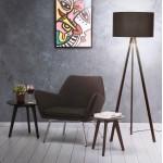 Diseño a tejido YORI lounge Chair (gris)
