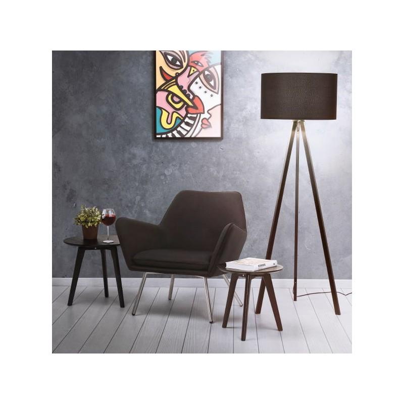 Tables gigognes ART en bois et chêne massif (noir) - image 40466