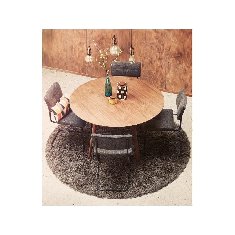 runder esstisch vintage stil skandinavischen sofia 120. Black Bedroom Furniture Sets. Home Design Ideas