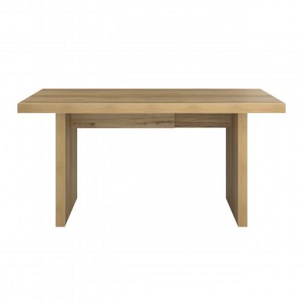 Sala da pranzo tavolo contemporaneo ALISON wood (160 x 92 x 78 cm) (rovere)