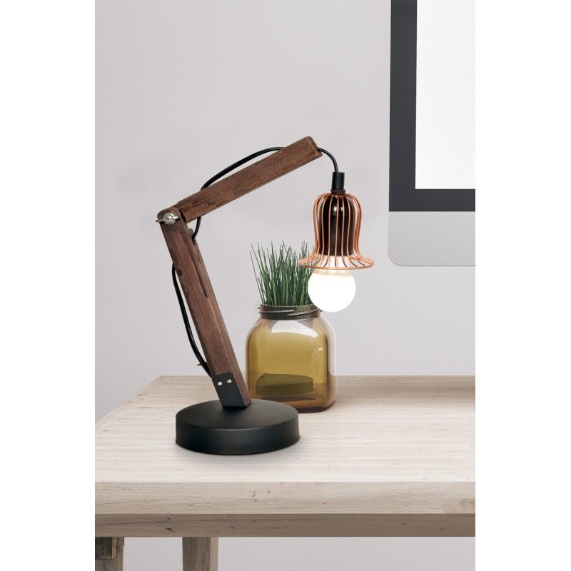 Lampe de table architecte industriel HARRY (cuivre) - image 40994