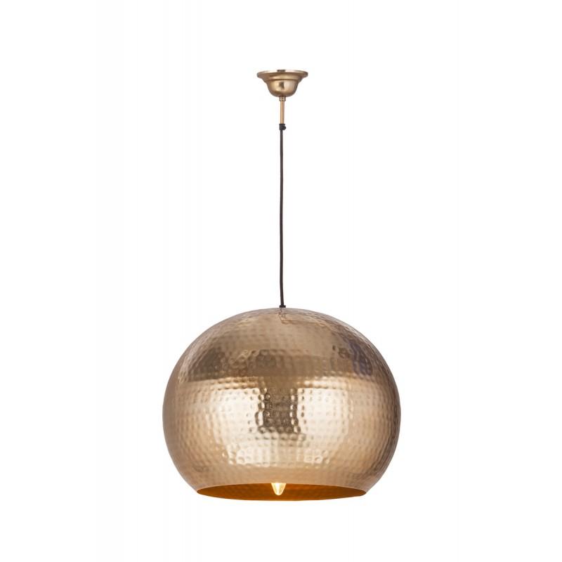 Lampe suspendue factory industriel en métal H 52 cm Ø 47 cm SAVANNAH (cuivre) - image 41009