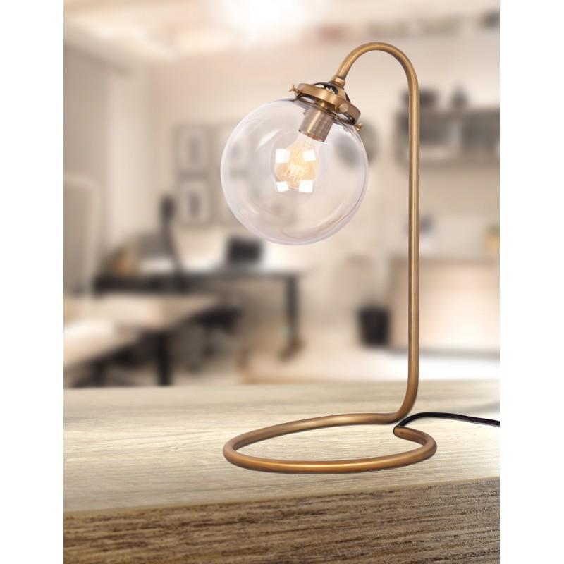 Lampe de table industrielle en métal BERTILLE (cuivre) - image 41108