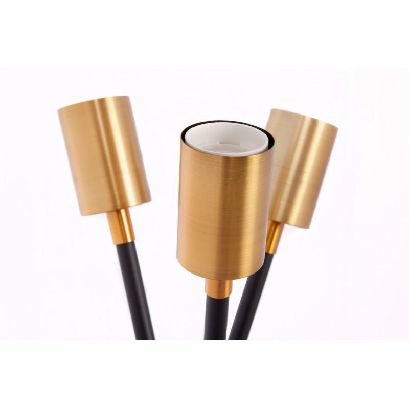Design table lamp 3 SOLVEIG (black) metal rods - image 41248