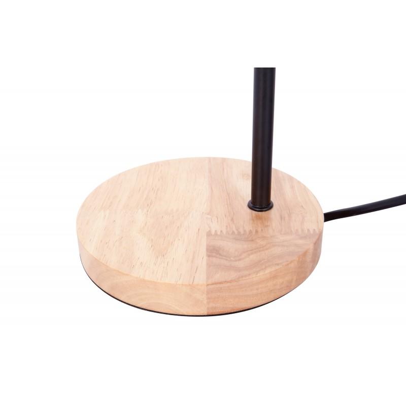 Lampe de table design en métal H 47 cm Ø 15 cm ARIANE (noir) - image 41284