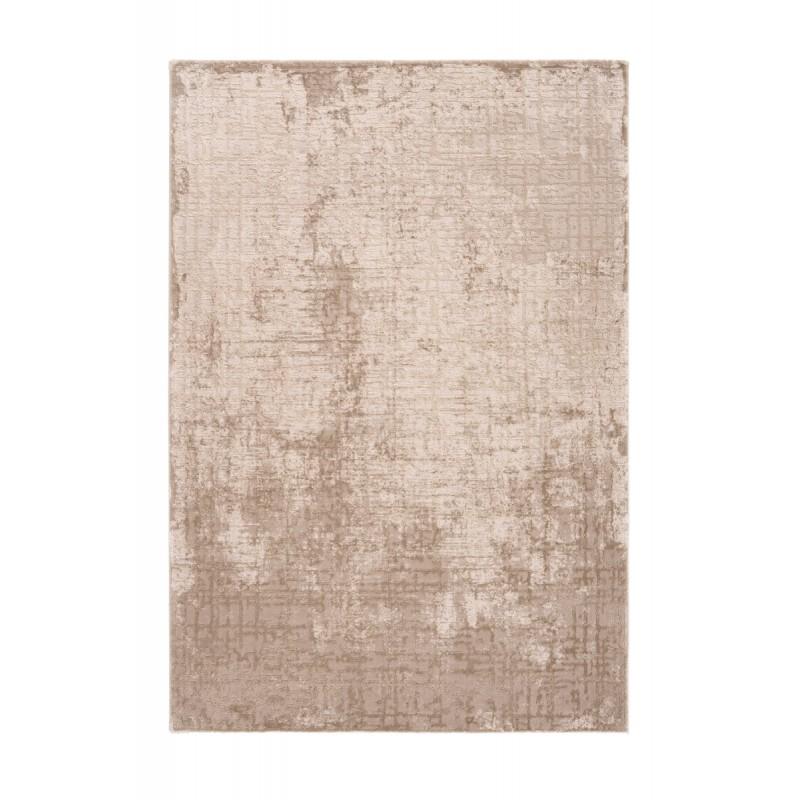 Tapis oriental BASTIA rectangulaire tissé à la machine (Beige) - image 41326