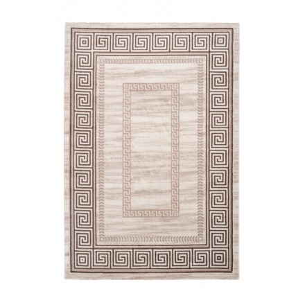 Oriental rug rectangular flap woven machine (Beige)