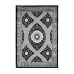 Oriental rug rectangular TETOUAN woven machine (black)