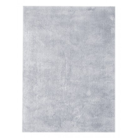 Carpet design and contemporary rectangular BALI handmade (blue gray)