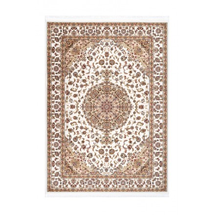 Orientteppich rechteckige marokkanischen gewebte Maschine (Beige)