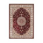 Oriental rug rectangular Moroccan woven machine (red)