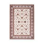 Oriental rug rectangular OUJDA woven machine (cream)
