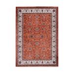 Oriental rug rectangular OUJDA woven machine (rust)