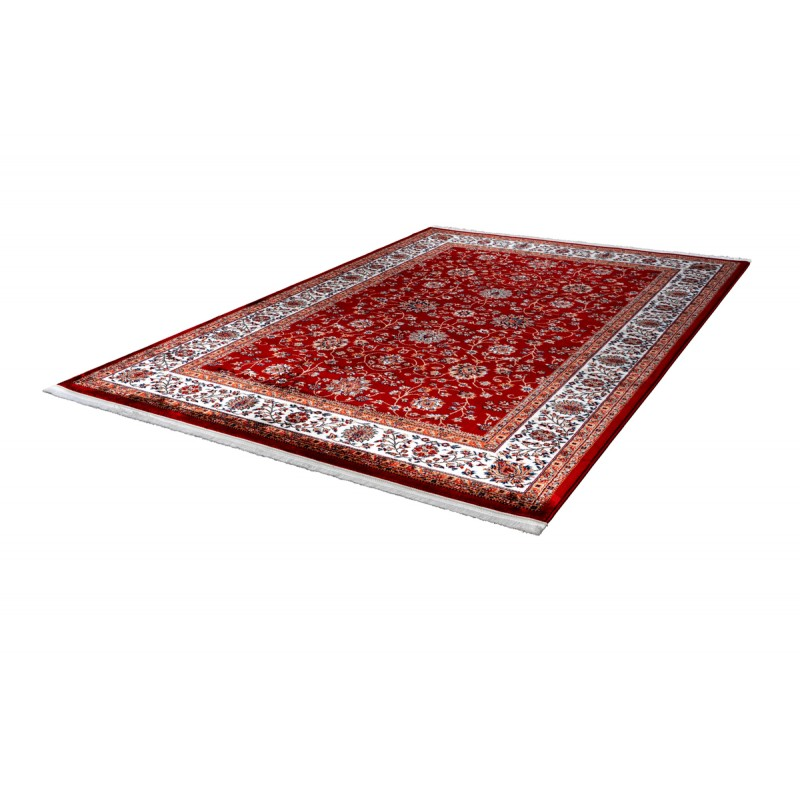 Oriental rug rectangular OUJDA woven machine (red) - image 41459