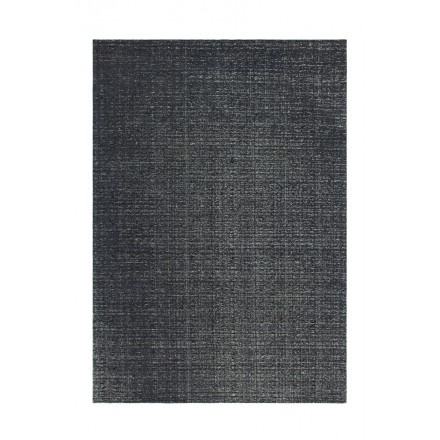 Tapis design et contemporain CAMBODGE rectangulaire fait main (Gris)
