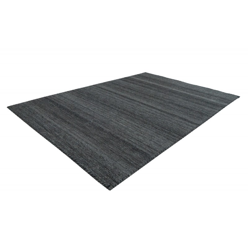 Tapis design et contemporain ATLANTA rectangulaire tissé à la machine (Gris anthracite) - image 41743
