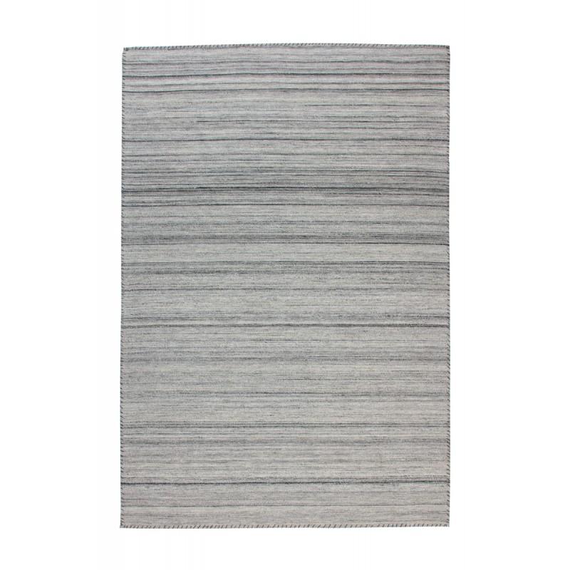 Tapis design et contemporain ATLANTA rectangulaire tissé à la machine (Gris) - image 41744