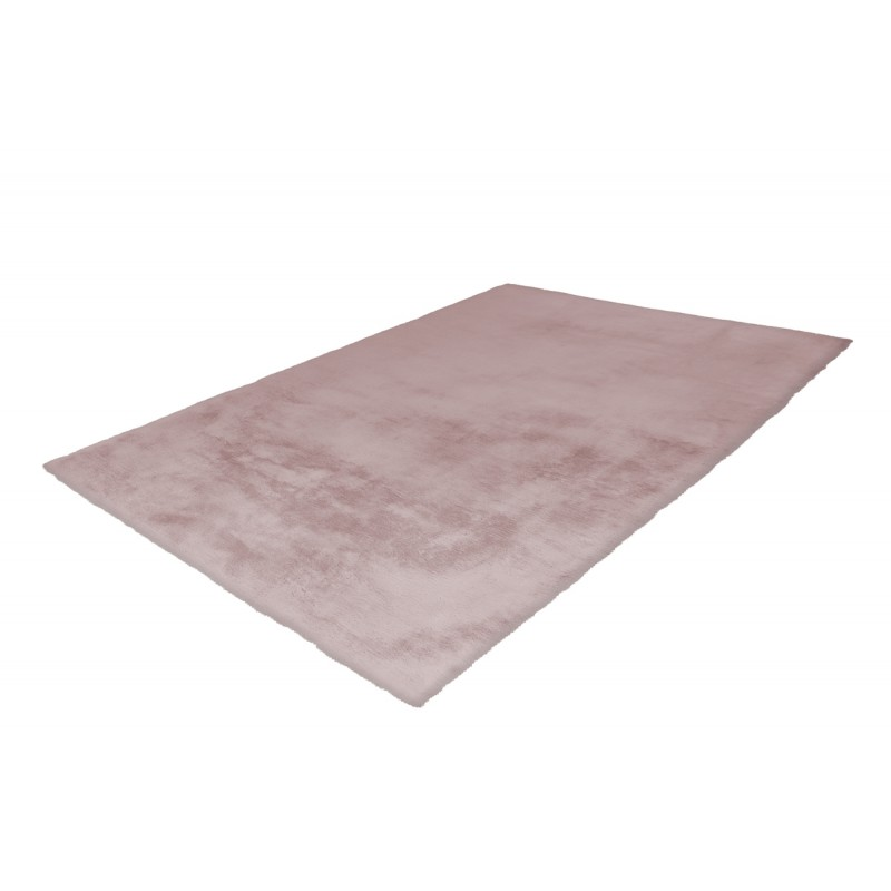 Tapis contemporain tufté à la main RABBIT rectangulaire tufté à la main (Rose) - image 41909