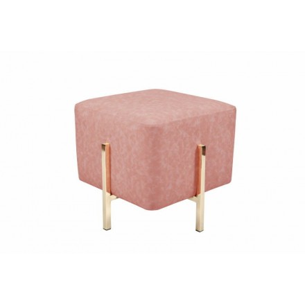 Hocker Design ELONA (Roségold)